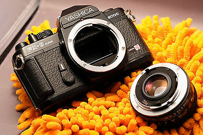 Yashica FX-3 35mm Camera with 50mm f/1.7 Lens