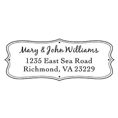 Designer Customized IDEAL 4912 Return Address withhis&her name Self inking Stamp