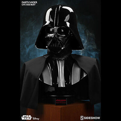 SIDESHOW Star Wars Darth Vader Life Size 1:1 Scale Bust NEW SEALED FREE SHIPPING
