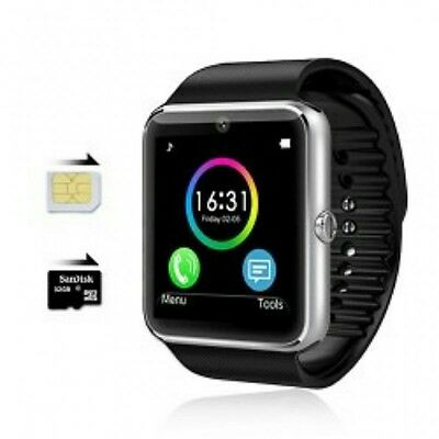 Neuf GT08 Smartwatch SIM slot Bluetooth Android NFC mobile phone
