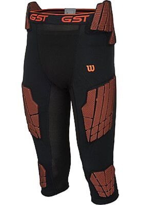 Wilson Adult GST football 7 pad compression impact 3/4 girdle pants 983700 XL