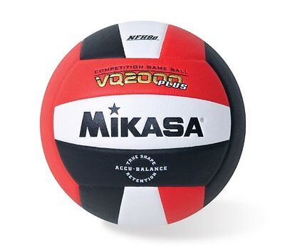 Mikasa Micro Cell Volleyball (Red/ White/Black)