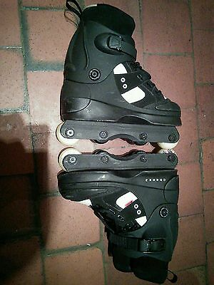 aggressive inline skates - anarchy chaos 3 - size 6 (small) or 5