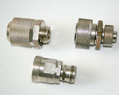 coaxial adapter 4,1/9,5 to 7/16 Siemens for HF Power applications