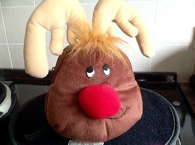 Bag Backpack Rucksack Christmas Rudolf Reindeer BNWOT