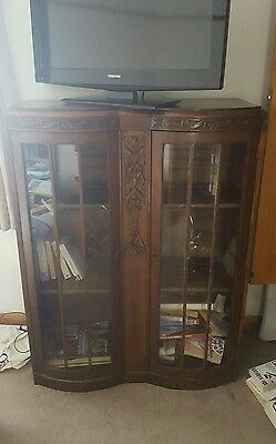 Roughly 1940s era bookcase/cabinet