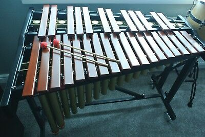 NEW PP084 Percussion Plus 2.5 Octave Marimba with two pairs of beaters