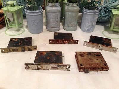 Lot Of 5 Skeleton Key Door Locks