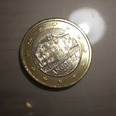 Andorra 1€ 1 Euro 2014 Coin Unc From Roll