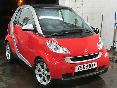 2009 Smart Fortwo Pulse Mhd Auto Red Swap P/x