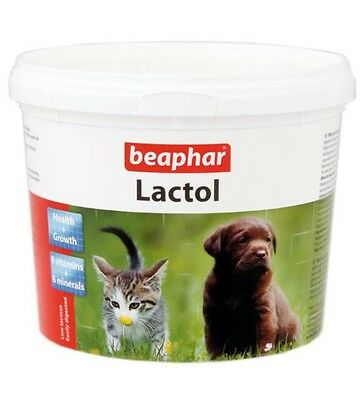 Beaphar Lactol Milk Weaning Supplement for Puppies Puppy Dog Food