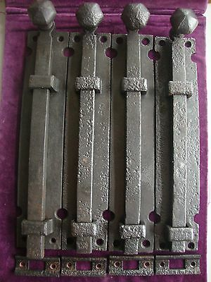 Antique  heavy duty church door bolts and keeps 3 available
