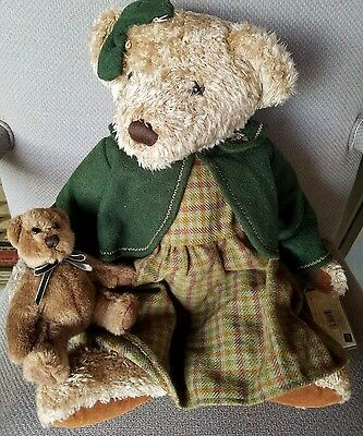 """L@@k!!! Russ Berrie #44722 LADY ELSPETH bear VINTAGE COLLECTION 18"""" New"""