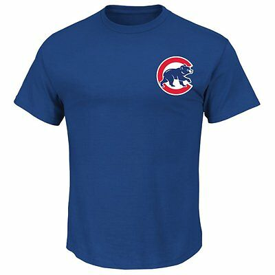 Majestic Athletic Majestic Adult MLB Chicago Cubs Logo T-Shirt