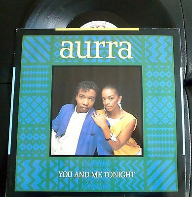 Aura-You And Me Tonight-Keep On Dancing You And Me(Instr)-Ex 1986