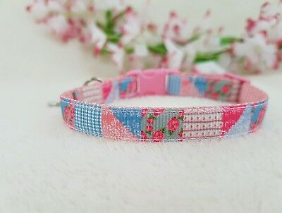 """Cutie Pie Mutli Patterned Dog/Puppy/Chihuahua Collar. Sizes 6-8"""" or 8-10"""""""