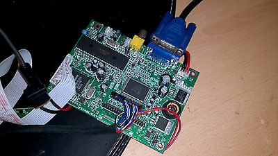 TFT LCD and VGA driver board Innolux AT102TN43