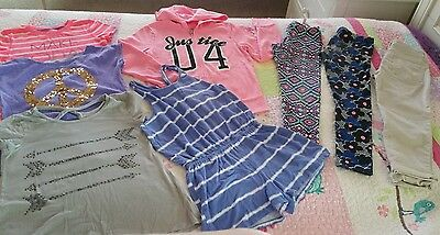 Huge lot of girl's clothes size 8 10 12