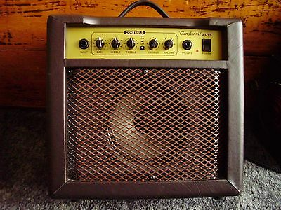 Tanglewood AC15 Acoustic Guitar Amp with Chorus.