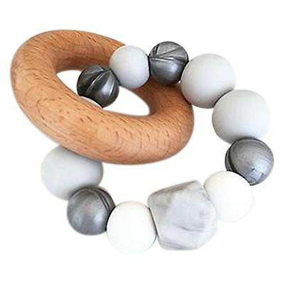 Nature Bubz Marble Baby Teething Toy - Brand New