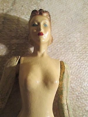 ANTIQUE VINTAGE LATEXTURE SUZANNE MANNEQUIN Fashion Show Doll EARLY Barbie Style