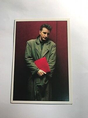 SMASH HITS COLLECTION 1987 80s PANINI MUSIC STICKER CARD #25 BILLY BRAGG