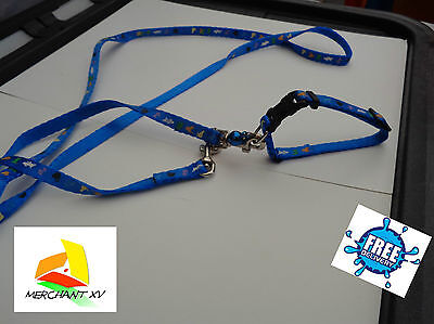 Wind Cat Kitten Collar&Leash SET with Safety Buckle&Bell 2 Colors