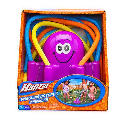 NEW Spring & Summer Toys Banzai Wiggling Octopus Sprinkler PURPLE