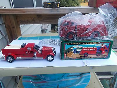 Lot Of 2 Texaco Truck Banks [1996 New In Box ] 1998 N/box Recent Estate Find
