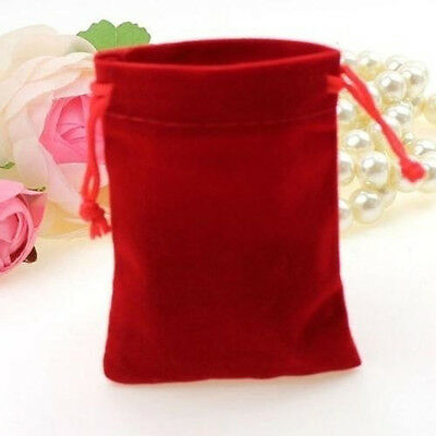 10 Pcs Velvet Bags Favor Wedding Pouches Jewelry Packaging Bag Gift Bags 7cm*5cm