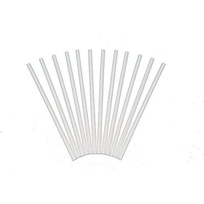 Poly-Dowels Plastic White Dowel Rods for Tiered Cake Construction, 12 Inch X