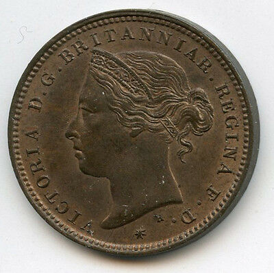 1877 Jersey 1/48 of a Shilling Coin