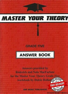 Master Your Theory Grade 5 / Five - ANSWER BOOK (Revised Edition) *BRAND NEW*