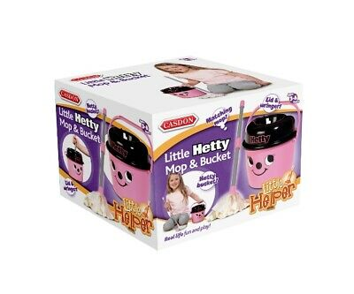 New Casdon Kids Toy Hetty Mop And Bucket
