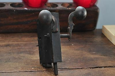 ANTIQUE Circa 18th c Spoon Handle GERMAN Door Latch / Lock Hardware