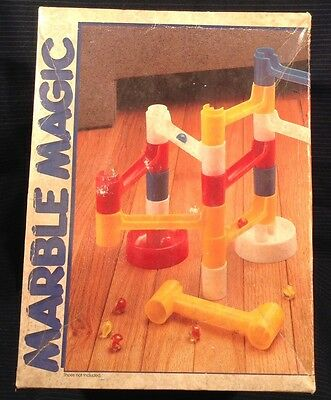 Vintage Discovery Toys Marble Magic Building Run 1983