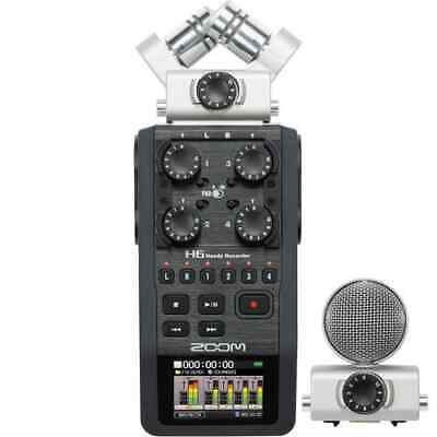 Zoom H6 Handy Recorder with Interchangeable Microphone System  (FXR006
