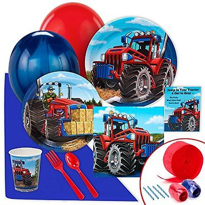 BirthdayExpress Farm Tractor Value Party Pack