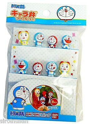 DORAEMON DORAMI Lunch Food Picks Pinchos Spit Bento Party Decoration Fruit