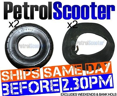 2 Tyre   Innertube 2.80-4 Scooter 2.50-4 PetrolScooter WheelBarrow 250-4 2.80-4