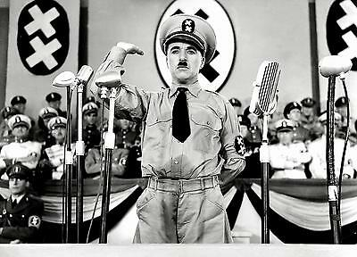 The Great Dictator (1940) 16mm Sound Feature Film Charlie Chaplin Cinema Classic