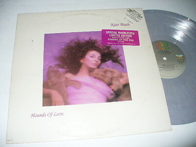 """Kate Bush 12"""" Promo LP Hounds Of Love Limited Edition Marble Vinyl Marbled #974"""