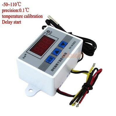 Digital LED Temperature Controller 10A Thermostat Control Switch Probe sensor