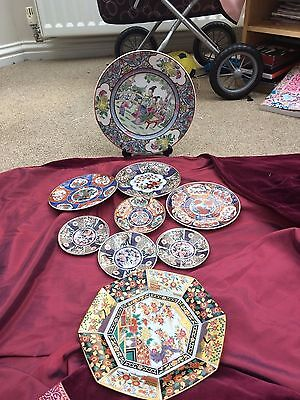 Joblot collection of Imari Japanese Plates