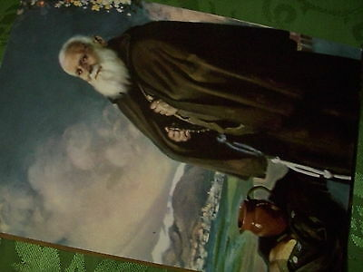 POSTCARD(plain)  - BROTHER LEOPOLD OF ALPANDIERE - CAPUCHIN LAYBROTHER