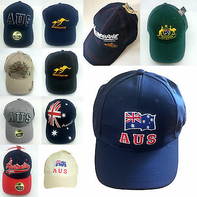 New Adults Unisex Mens Australian Day Australian Souvenir Baseball Cap 13Designs