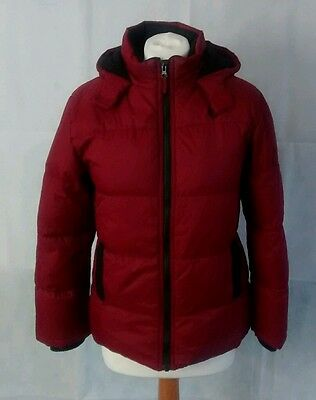 MARKS AND SPENCER™ red girl's padded jacket **18w 26l age 11-12**