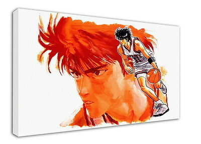 WK-C022 (516) SLAM DUNK Canvas Stretched Wood Framed 36x24inch Poster