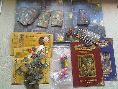 Dungeons & Dragons - The Fantasy Adventure Board Game Parker 2003 VGC RPG
