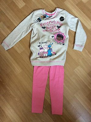 doc mcstuffins 2piece Outfit BNWT Age 5-6 Years New
